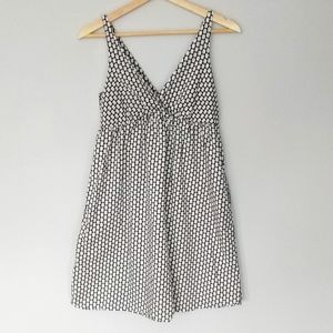Cotton black and white summer baby doll dress